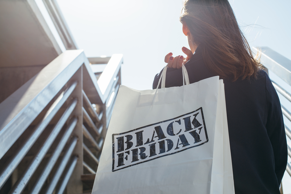 Black Friday promotional marketing
